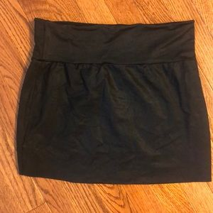 American Apparel Faux Leather Stretch Mini